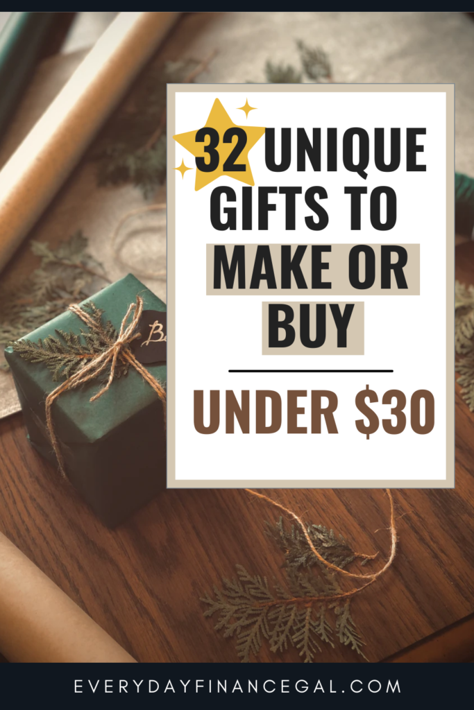 clever gift ideas for cheap