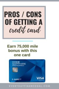 title should i get a credit card